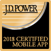 J.D. Power 2018 Certified Mobile App